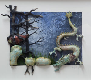 Dragon Wall Hanging..Carty Ia n ..€450