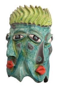 Glazed Mask I ..Burgess Liz