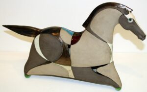 Horse With Glass..Panov Ivan..€250