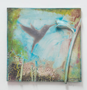 Humming Bird Tile II..Carty Ian..€130