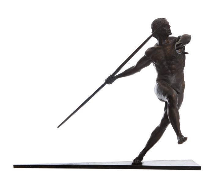 The Javelin Thrower…Bronze By Michael Keane…€3995