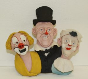 Three Clowns..Dee Stephen..€250