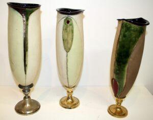 Vases on Stand..Panov Ivan..€190ea.