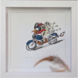 Full speed ahead..Mixed Media..Nicola Arens..€110