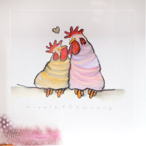 Love Is..Mixed Media..Nicola Arens..€110