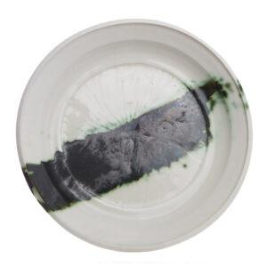 Plate..Porcelain..Peter Fulop..€270