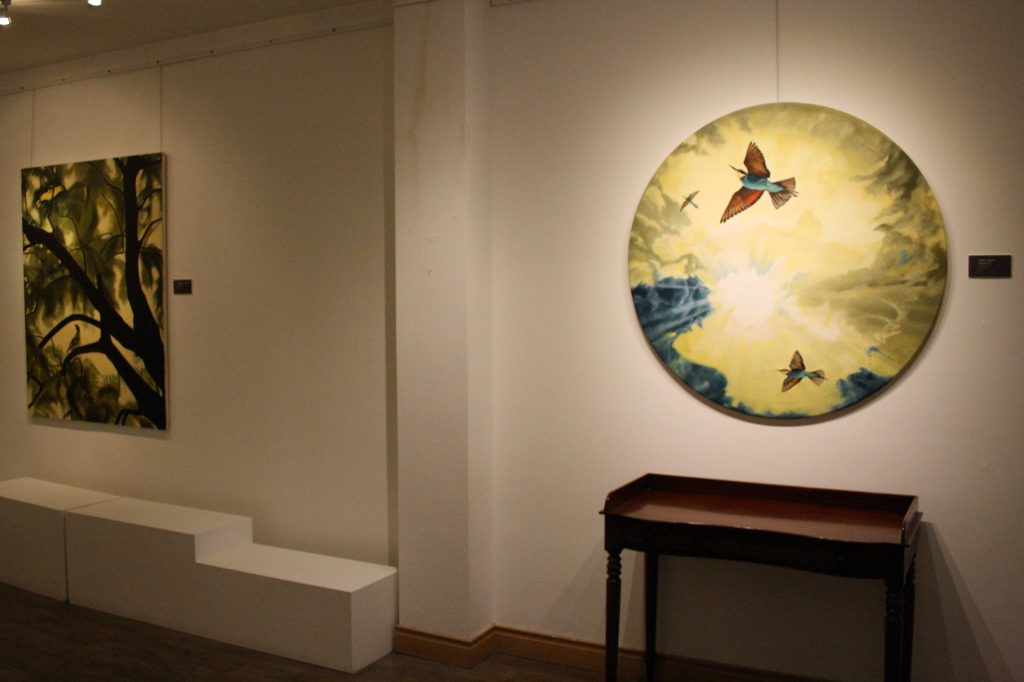 """Exhibition Gallery """" The Immigrants""""  by Finn Campbell- Notman"""