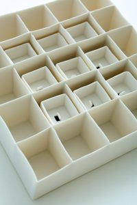 Image 3 Internal Spaces II(Detail) (9 Individual Porcelain Boxes)