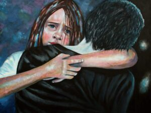 Keith_Anderson...What's Left Behind...Oil on Canvas...€300