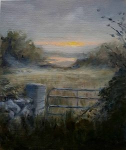 Paul Grout Rusheenbay at dawn...Oil on Canvas...€200