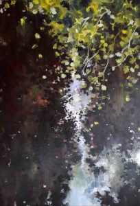 Teresa Butler...River Sprites... Acrylic on Board...€350