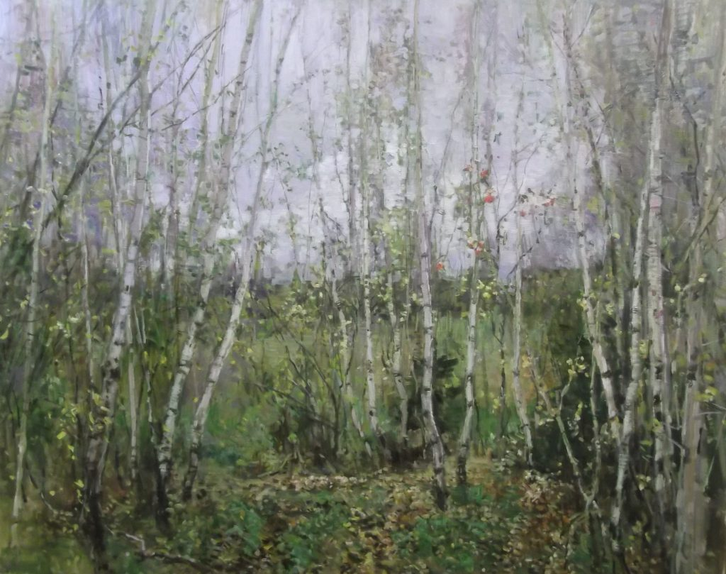 "Andrey Demin    ""Spring"" Oil  on Canvas"