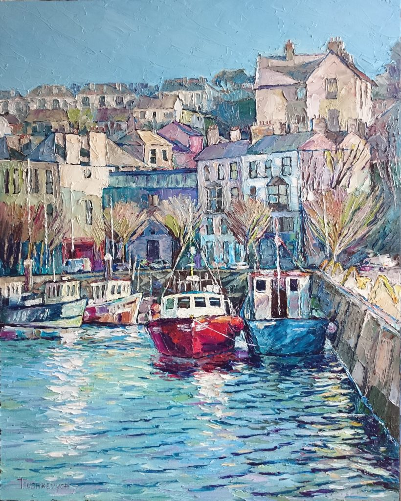 """Howth""     Oil on Canvas by Andrii Trushkevych"