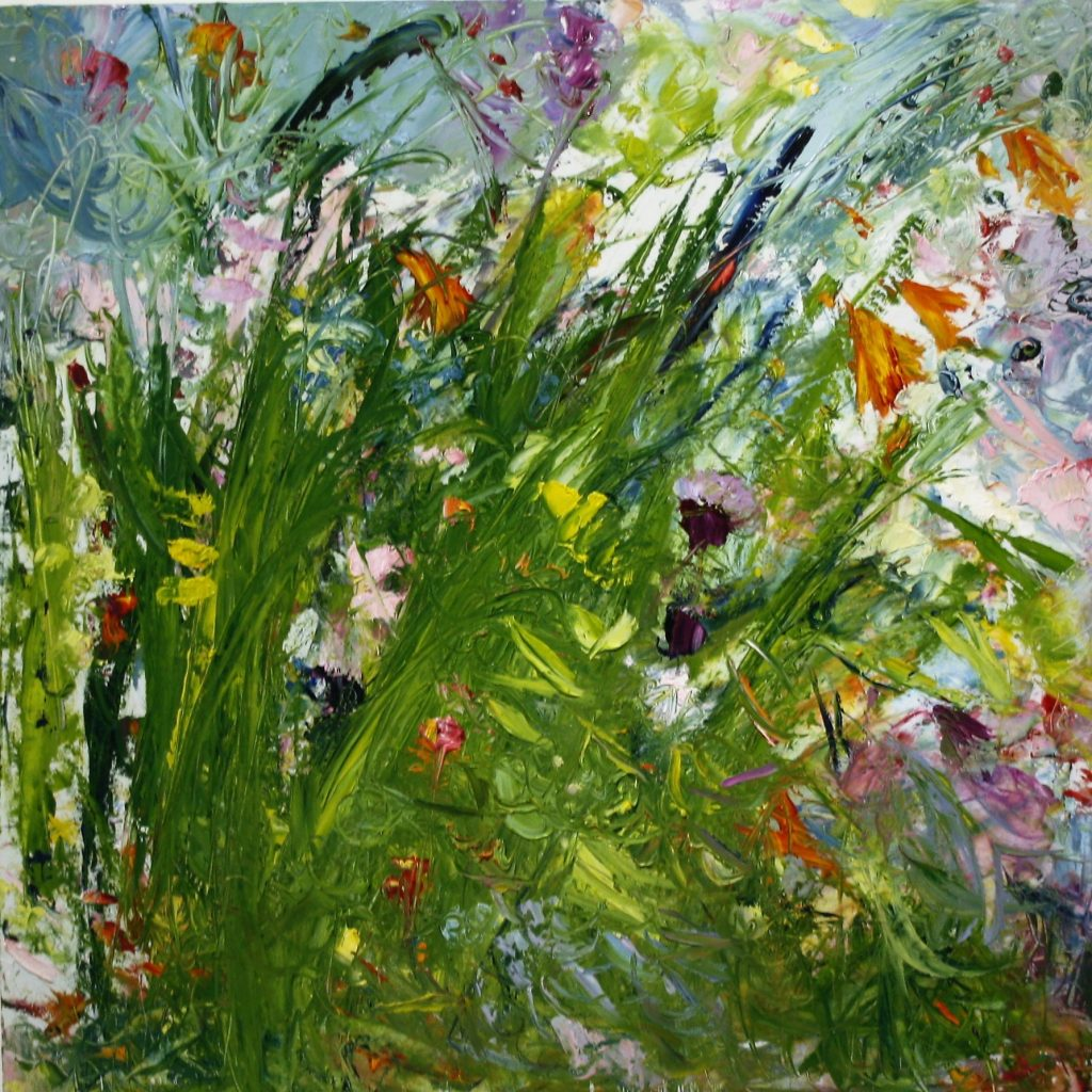 .Rock of Doon Bloom…Oil on Linen  by  Vera Gaffney