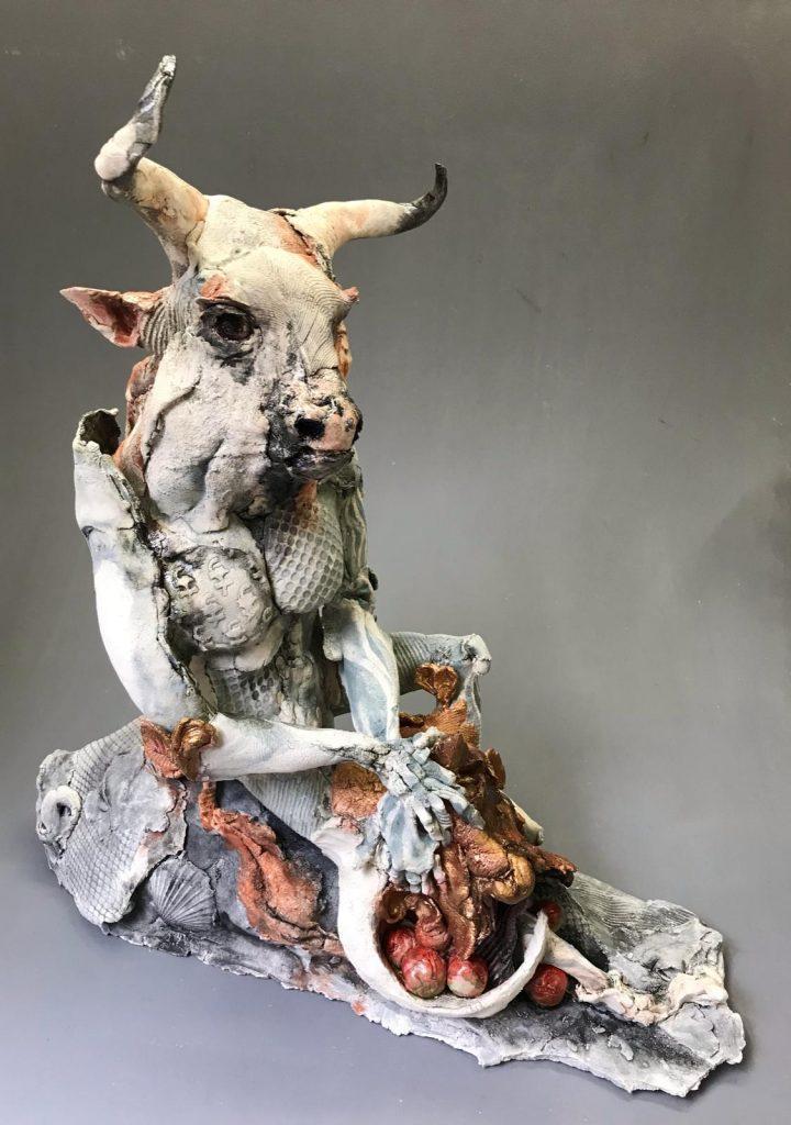 Minotaur with Mask  By Ostinelli & Priest…€995