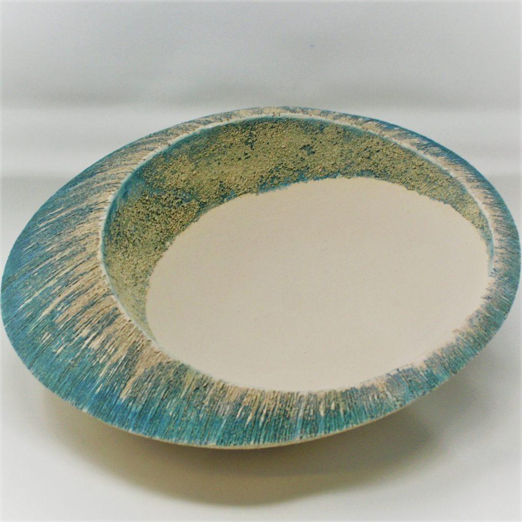 Tilted….   Ceramic  By Eileen Singleton